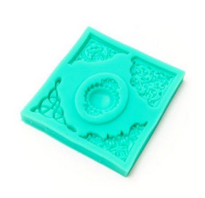 Decorative Corners Silicone Mould
