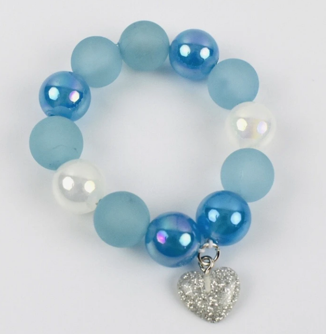 Load image into Gallery viewer, Snowflake Beaded Bracelet
