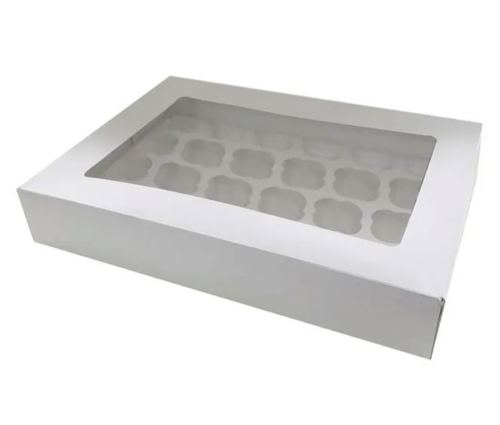 Load image into Gallery viewer, Cupcake Box - 24 Standard Holes