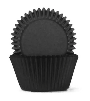 Black Baking Cups