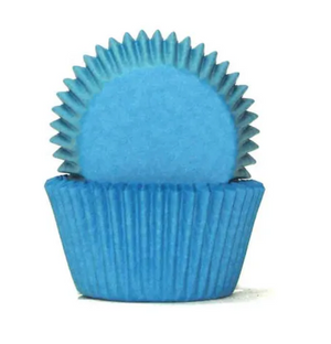 Blue Baking Cups