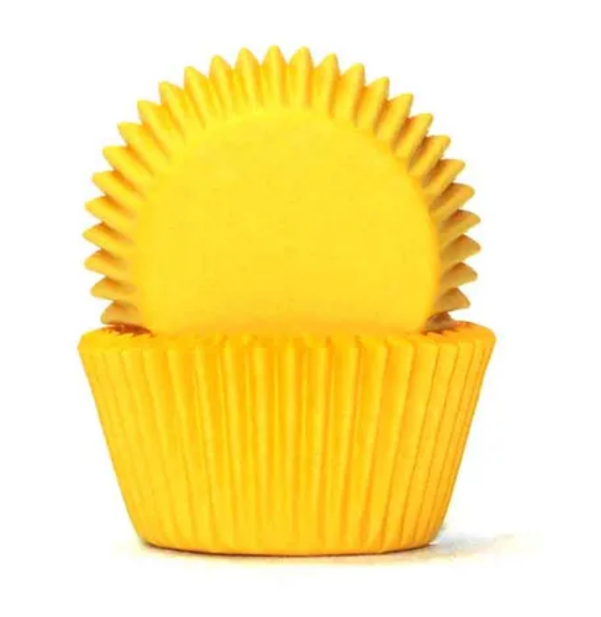 Yellow Baking Cups