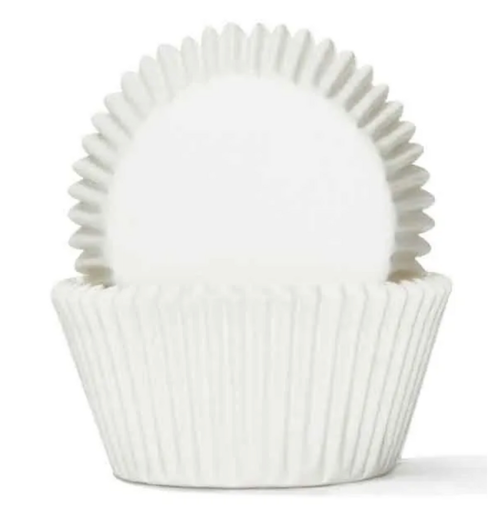 #1 White Baking Cups