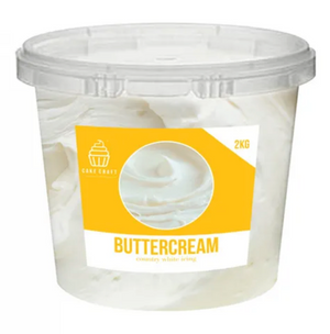 Country White Buttercream Icing - 2kg
