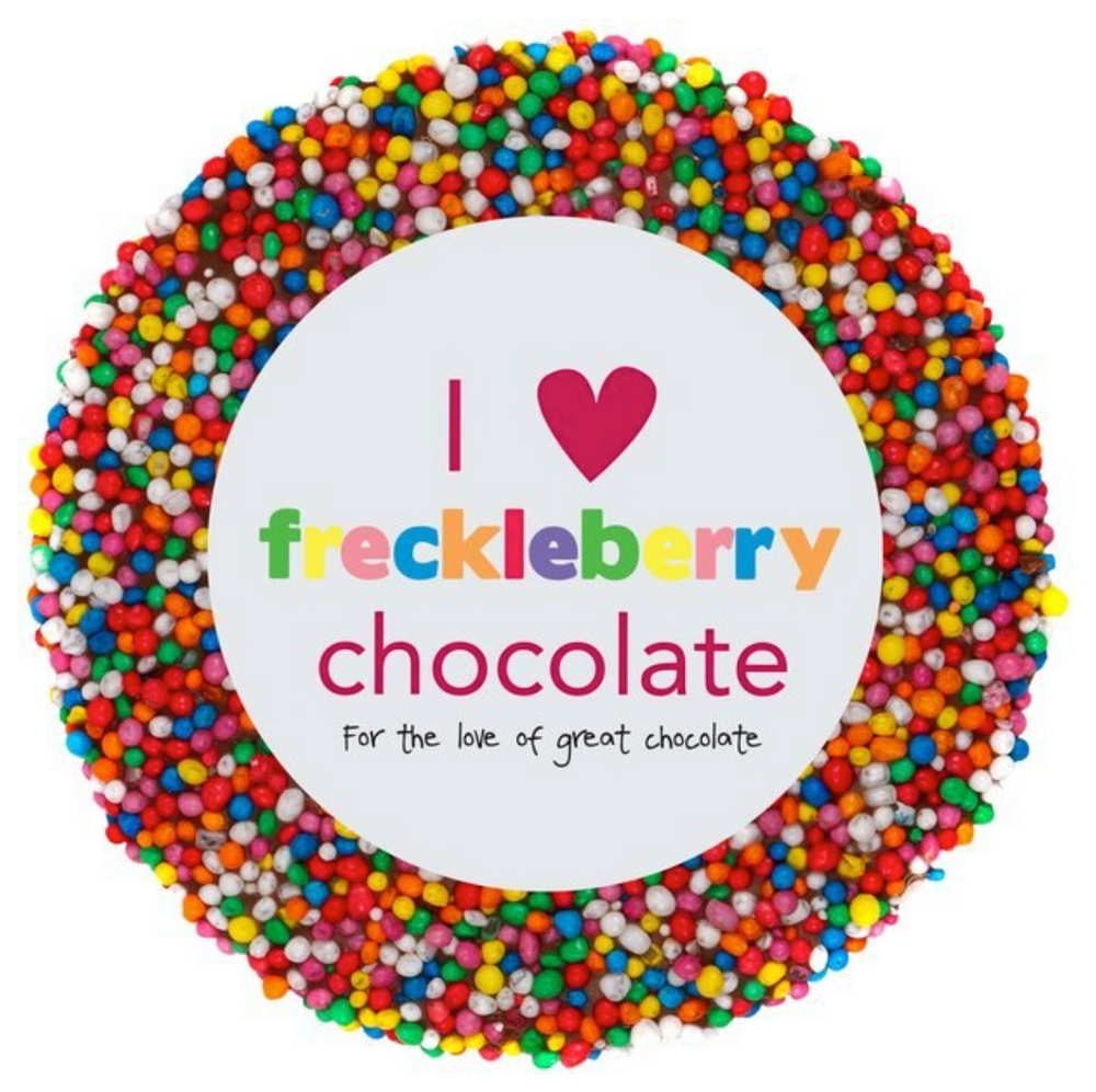 Single Round Chocolate Freckle