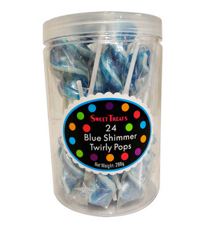 Twirly Pops - Shimmer Blue