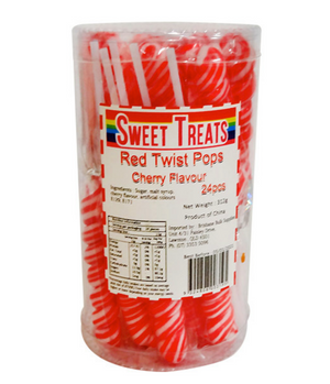 Twist Pops - Red