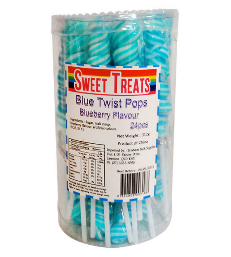 Twist Pops - Blue