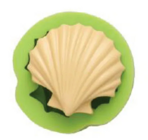 Load image into Gallery viewer, Large Scallop Shell Mould