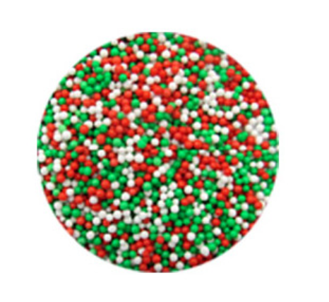 Load image into Gallery viewer, Non-Pareils Christmas Blend Sprinkles