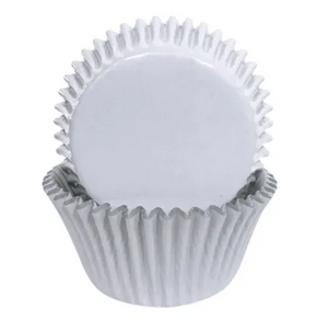 408 White Foil Baking Cups