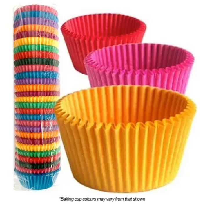 390 Assorted Baking Cups - 500 Piece Pack