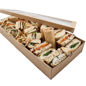 Load image into Gallery viewer, Kraft Catering Box & Lid
