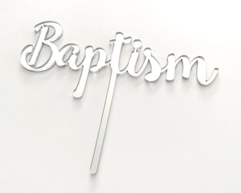 Load image into Gallery viewer, Cake Topper - Baptism