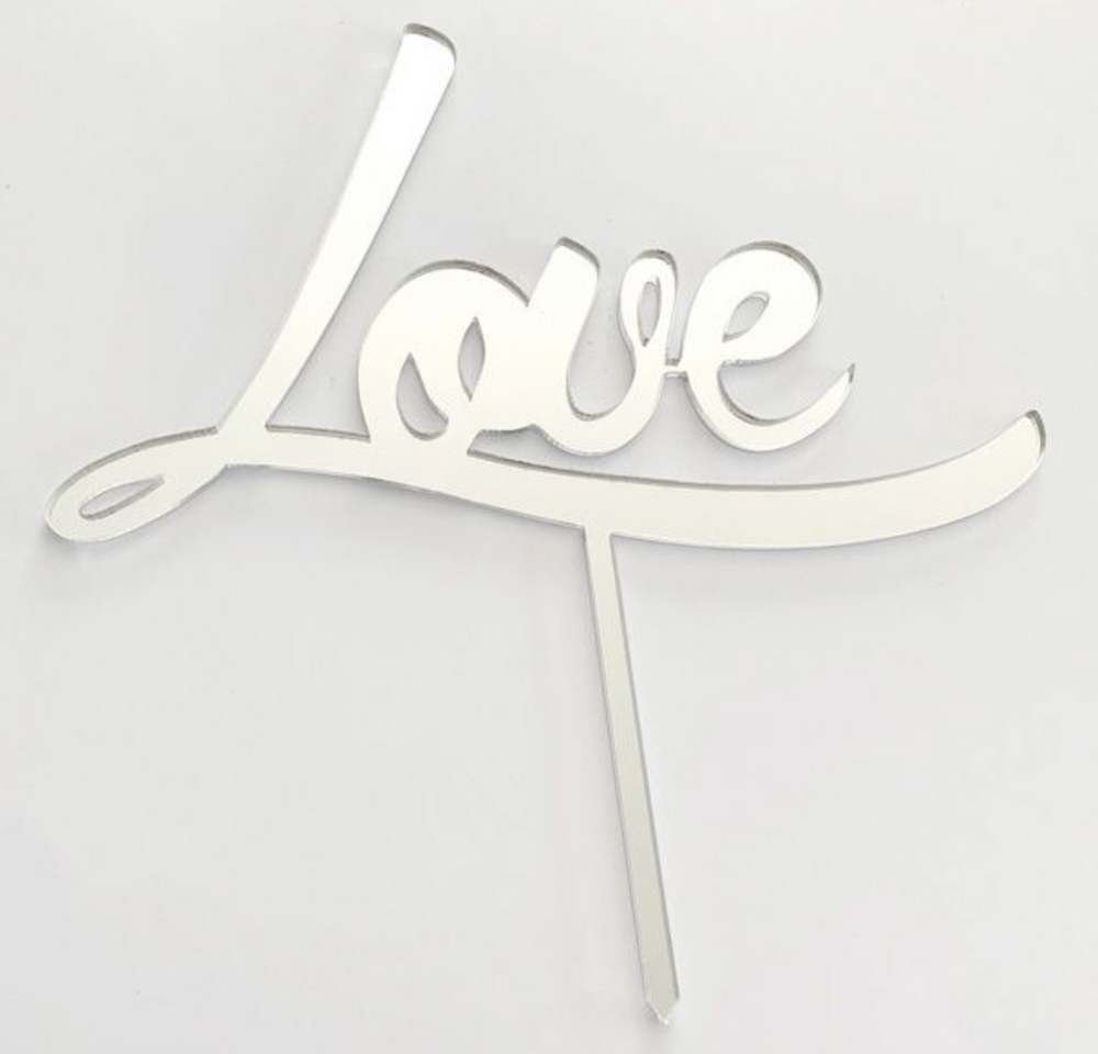 Load image into Gallery viewer, Cake Topper - Love