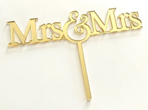Load image into Gallery viewer, Cake Topper - Mr & Mrs