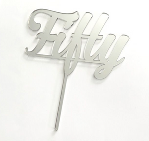 Cake Topper - Fifty