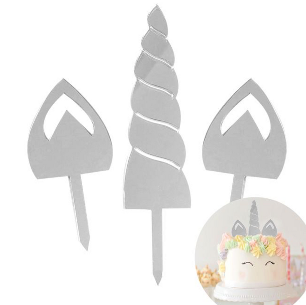 Cake Topper - Unicorn Ears