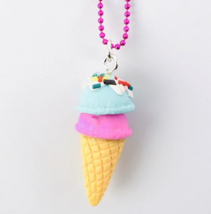 Ice Cream Cone Chain Necklace