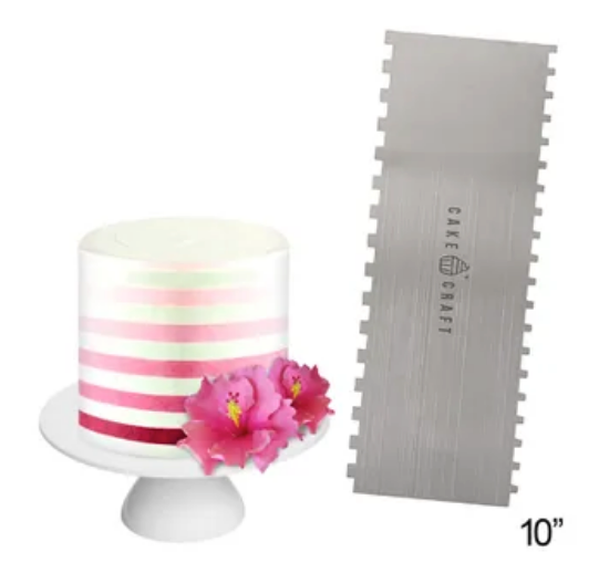 Metal Buttercream Combs