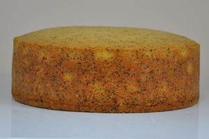 Orange Poppyseed Naked Cake