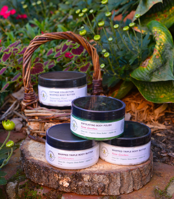 Cottage Collection - Whipped Body Butter - Green Orchid Soap Co.