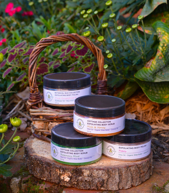 Exfoliating Sugar Scrubs - Green Orchid Soap Co.