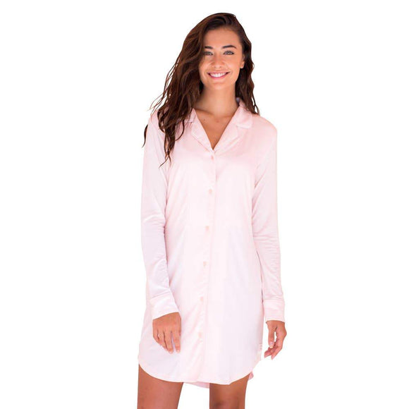Faceplant Bamboo® Boyfriend Nightshirt - Green Orchid Soap Co.