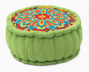 Green Lotus Meditation Pillow - Green Orchid Soap Co.