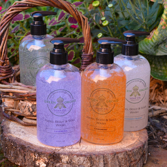 Hand, Body & Soul Wash - Green Orchid Soap Co.