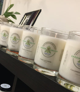 Hand-Poured Soy Candles - Green Orchid Soap Co.