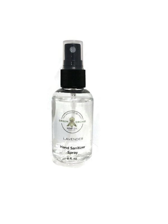 Hand Sanitizer Spray - Green Orchid Soap Co.