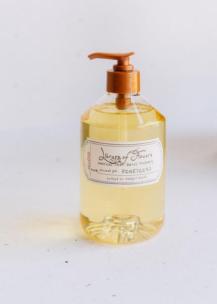 Library of Flowers Shower Gel - Honeycomb - Green Orchid Soap Co.