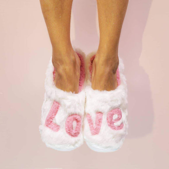 Love - Classic Slippers - Green Orchid Soap Co.