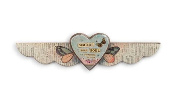Nurture Your Soul - Wall Hanging - Green Orchid Soap Co.