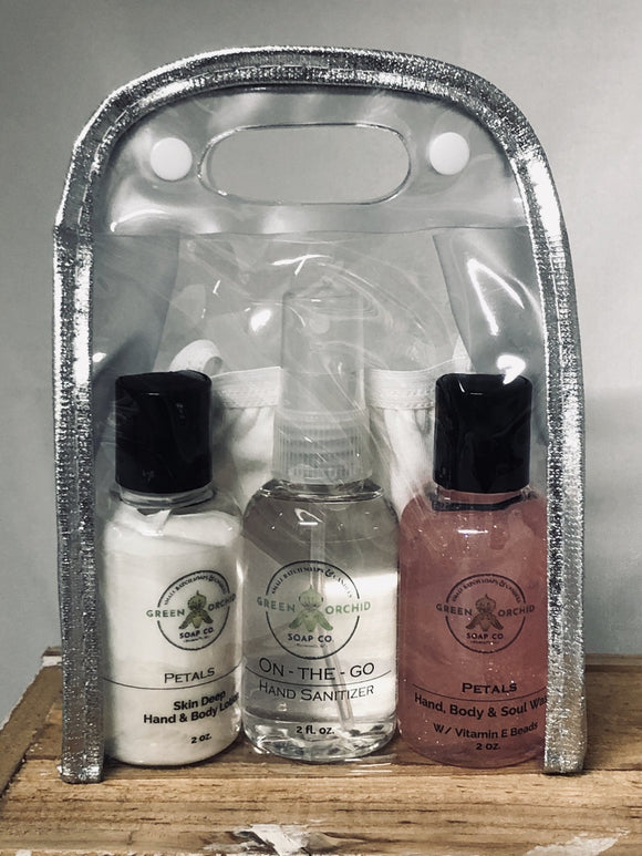 On-the-Go Healthy Hands Kit - Green Orchid Soap Co.