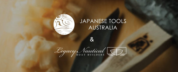 THE JAPANESE TOOLS AND LEGACY NAUTICAL SET DESIGNED SPECIFICALLY FOR BOAT BUILDING