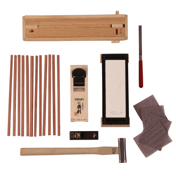 The Complete Chopstick Making Set - Japanese Tools Australia