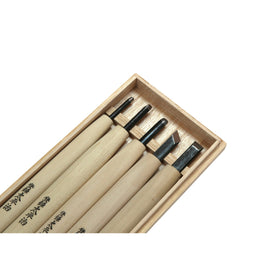 Taheiji Carving Chisel 5 piece Set