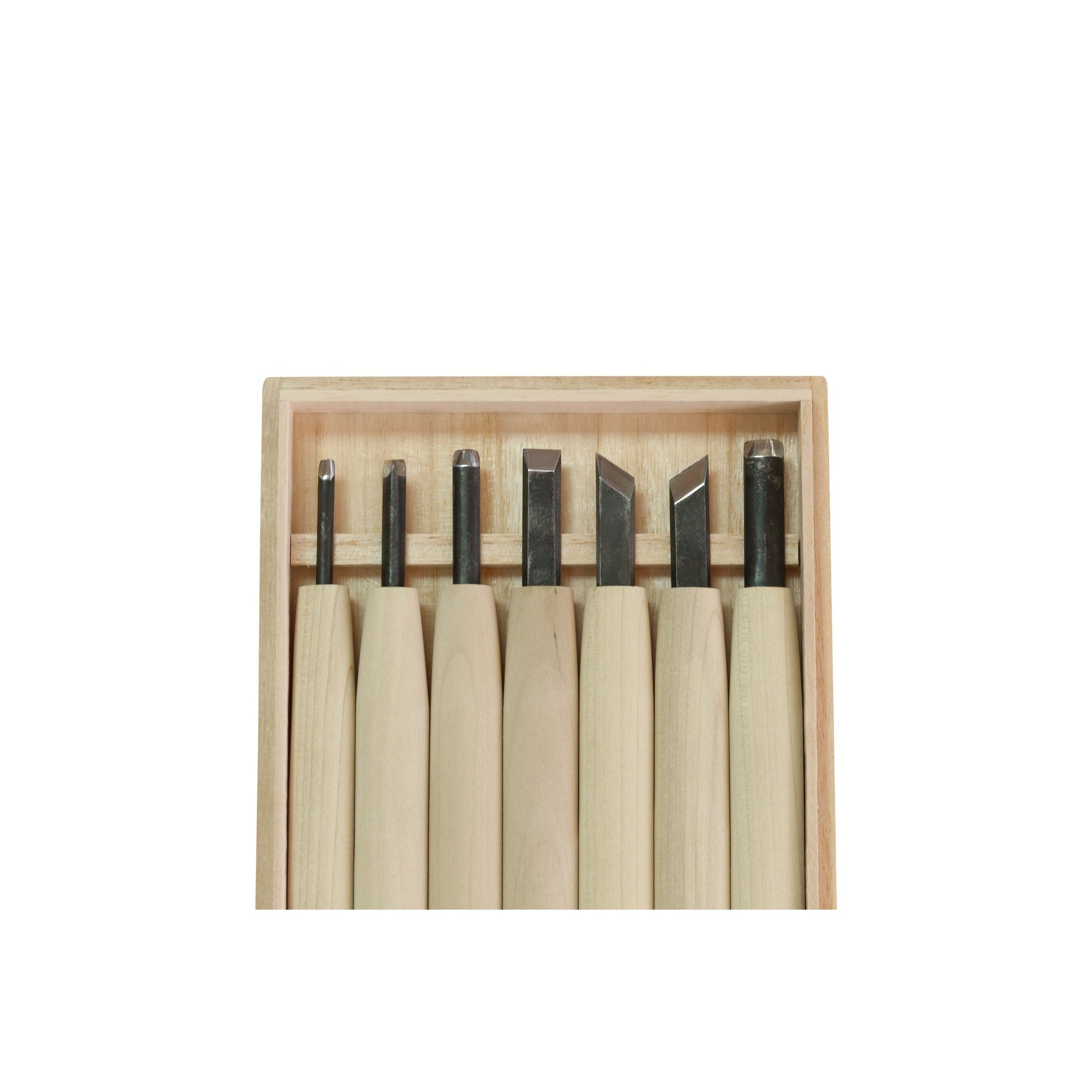 Taheiji Carving Chisel 7 piece Set - Japanese Tools Australia