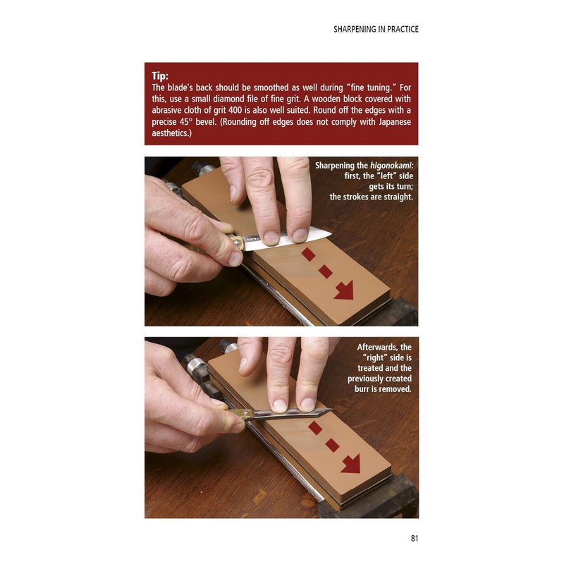 Japanese Knife Sharpening: With Traditional Waterstones - Japanese Tools Australia
