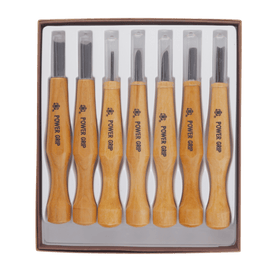 Get Started with Carving - 7 Piece Power Grip Carving Set