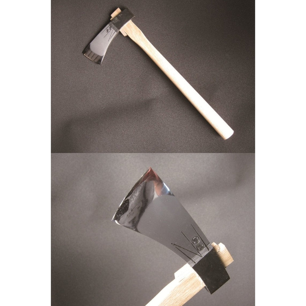 Polished Carving Hatchet - Japanese Tools Australia