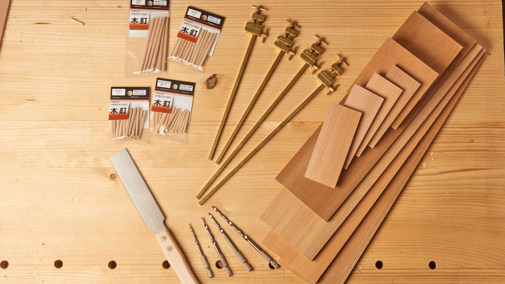 Japanese Toolbox-Making Set