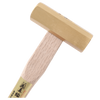 Brass 8-Kaku Hammer 300g by SUSA with White Oak handle - Japanese Tools Australia