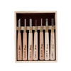 HSS Woodblock Print Chisel Set - 7 Piece