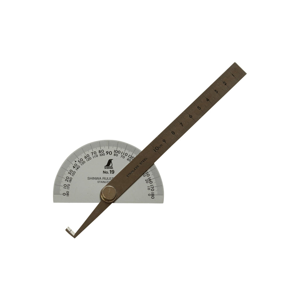 Shinwa Protractor no. 19 - Japanese Tools Australia