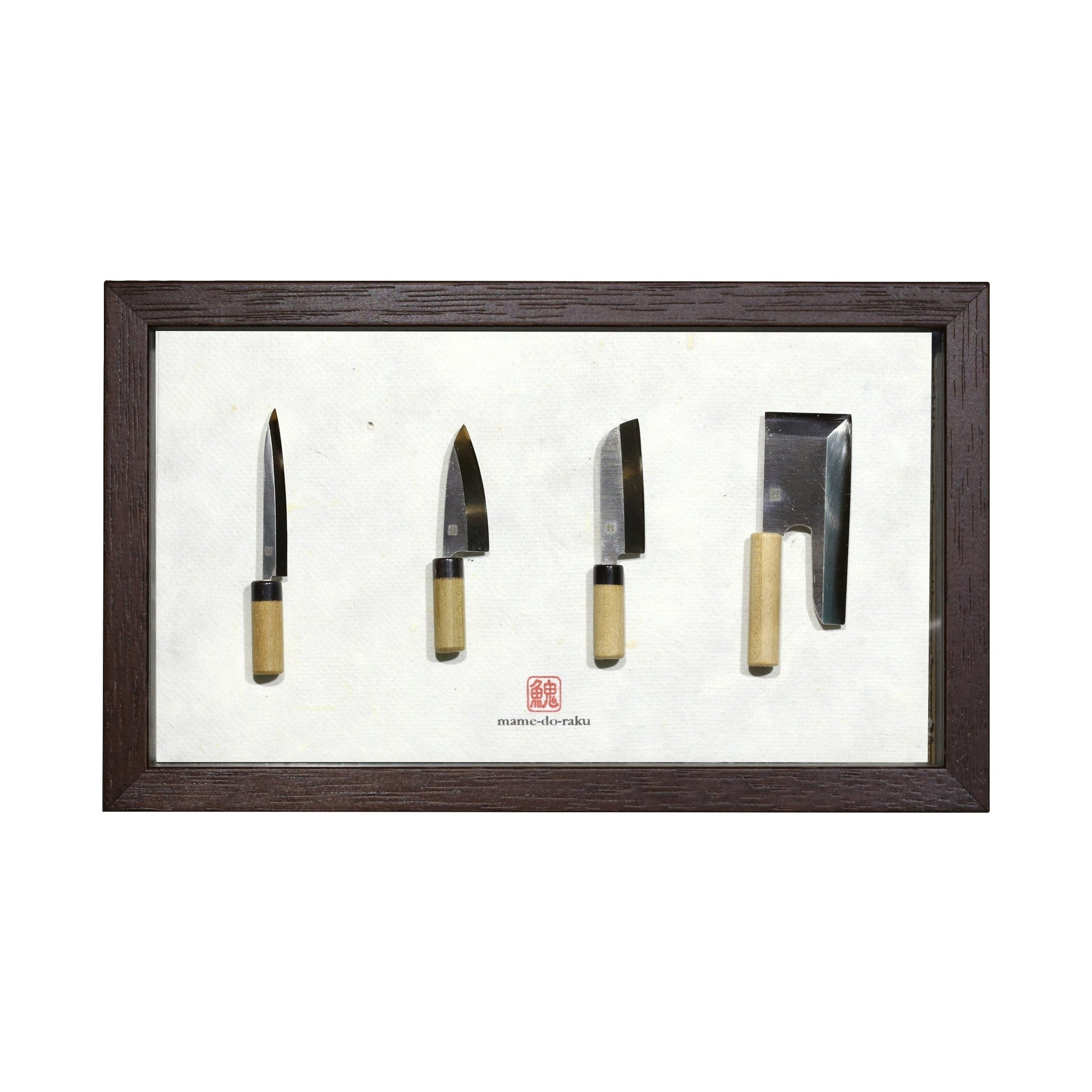 Miniature Kitchen Knives Set - 4 pcs | Japanese Tools Australia