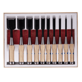 Musouken Bench Chisel Set - 10pcs