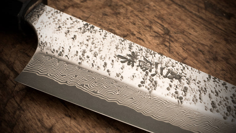 Ouka Gyuto - 180mm, Gingami #3 Steel